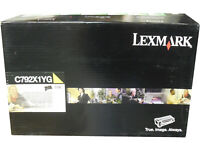 Lexmark C792X1YG Yellow Extra High Yield Toner Cartridge 20k Genuine OEM *
