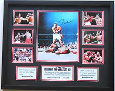 New Muhammad Ali Signed Limited Edition Memorabilia
