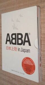 ABBA IN JAPAN DELUXE 2 DVD LIMITED SPECIAL EDITION UK RELEASE LIVE TV SHOW 78/80
