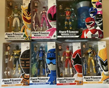 Mighty Morphin Power Rangers Lightning Collection Lot With Zordon And Alpha 5