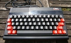 ORIC ATMOS micro-ordinateur vintage avec imprimante et jeux