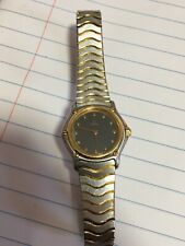 Ebel Sport Classique Quartz Women's Watch Steel/Gold discolored dial see pics