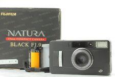 【 Exc+4】Fujifilm Fuji Natura Black f/1.9 Point Shoot Film Camera from Japan