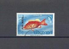 "GRENADA 1972 SG 502A ""Overprint Double"" USED . CERT"