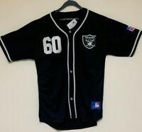 Oakland raiders baseball style black top brand new
