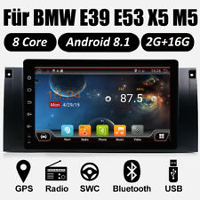 For BMW E39 X5 E53 Octa Core Car GPS Stereo Radio In Dash WiFi Android 8.1 DAB+