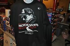 Dale Earnhardt #3 Hall of Fame Induction Ceremony T-Shirt SHARP 2-sided!!