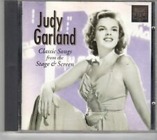 (GM93) Judy Garland, Classic Songs From The Stage & Screen - 1993 CD