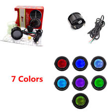 "52mm/2"" 7 Colors Universal 35 PSI Boost Gauge Vacuum Pressure Gauge for Auto Car"
