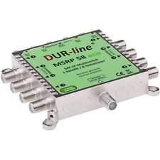 Multischalter MS 58 eco von DUR-line Sat 5/8 | 5 auf 8 ohne Netztei 1 Satellit
