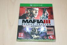 Mafia 3 Deluxe Edition Xbox One Pal UK New Factory Sealed Microsoft