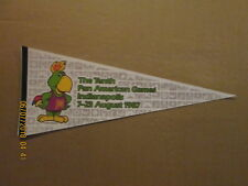 The Tenth Pan Americam Games Indianapolis August 7-23 1987 Logo Pennant