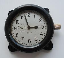 Zchz Zlatoustovskie Russian Soviet USSR Military Tank Cockpit Clock #5370