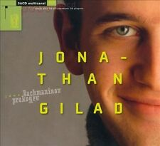 JONATHAN GILAD PLAYS RACHMANINOV & PROKOFIEV NEW CD