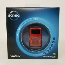 SanDisk Sansa Clip MP3 Player 2GB Red SDMX11R-2048R-A70B - NEW SEALED