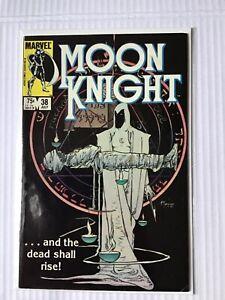 MOON KNIGHT # 38 FINAL ISSUE FIRST PRINT MARVEL COMICS