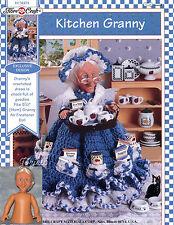Kitchen Granny ~ Fibre-Craft Crochet Patterns & Granny Air Freshener Doll