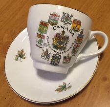 1967 Canadian Centennial Tea Cup and 2 Saucers