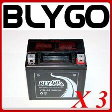 3X YT5L-BS 12V5AH Battery 90 110cc 125cc PIT PRO TRAIL DIRT QUAD BIKE ATV BUGGY