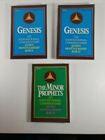 An Expositional Commentary:Genesis Vol 1, Vol 3;The Minor Prophets Vol 1 3 books
