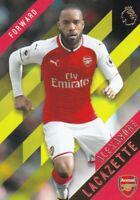 Alexandre Lacazette - 2017/18 Topps Premier League Gold Soccer,(Yellow)