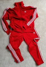 adidas Originals FIREBIRD Track Suit M scarlet red superstar sst chile run dmc
