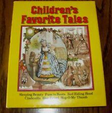 Children's Favorite Tales Sleeping Beauty,Cinderella,1986 Bracken Books,HC,DJ