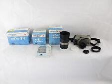 Minolta Vectis S-1 APS-Kamera + V 28-56/4-5.6 + V 56-170/4.5-5.6 + Anleitung
