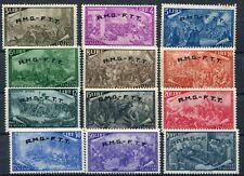 Italia  Trieste A 1948 18-29 centenario del risorgimento Mnh