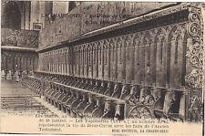 LA CHAISE DIEU - Intérieur de l'église - Les stalles  (F5034)