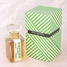 VINTAGE Carven Ma Griffe 4 oz perfume extrait