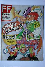 DDR Fernsehzeitschrift FF Dabei RARITÄT 03/1986 TOP !!