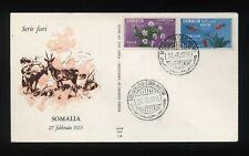 SOMALIA AFIS - 1955 - 1° Fiera Int. + PA - FDC Venetia