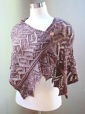 """Kalinka Shawl"" Annie's Signature Designs Knitting Pattern Leaflet: Intermediate"