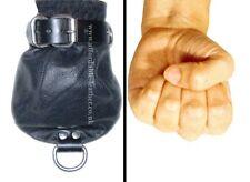 Quality Genuine Leather Fist Mittens Restriction Bondage Fetish Slave BDSM UK