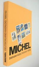 Michel Briefmarken Deutschland German Stamp Catalog 1991/92 Color