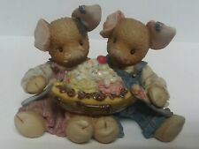 This Little Piggy by Enesco Love is Pigging Out With You Banana Split Figurine