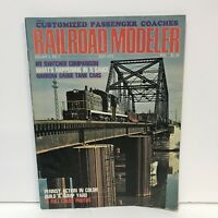 Railroad Modeler Magazine Back Issue July 1972 Pennsy Action Build A Hump Yard
