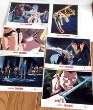RARE lot ✰ COMPIX Anime Lobby card movie japan rare About 21.59 x 27.94cm