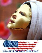 SALE! 10 Pcs 24K Authentic Gold Bio Collagen Pilaten Facial Mask, EXP:09/2019