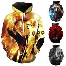 Naruto3D Anime Damen Herren Hoodie Sweatshirt Kapuzenpullover Pullover Jacke Top