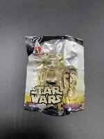 Star Wars Celebration Japan Bearbrick Medicom Pepsi Nex C3PO Keychain Brand New