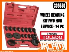 TOLEDO 309550 - WHEEL BEARING KIT FWD HUB SERVICE - 24 PC - REMOVAL REPLACEMENT