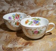 VICTORIA China  2 Tea Cups Czechoslovakia 276 (ID/P1)