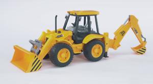 ROAD LOADER with Excavator JCB 4CX Bruder Toy Car Model 1/16 1:16