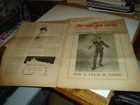 LA SETTIMA ARTE anno III° N. 12 del 12/1925 - D. FAIRBANKS in DON X FIGLIO ZORRO