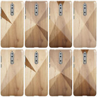 DYEFOR GEOMETRIC WOOD COLLECTION PHONE CASE COVER FOR NOKIA