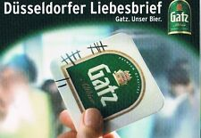 Bier Beer  Gatz Altbier Düsseldorfer Liebesbrief, selten und bestens erhalten
