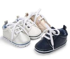 Infant Baby Boy Girl Soft Sole Sports Crib Shoes Toddler PreWalker Sneakers 0-18