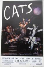 CATS Touring Broadway Musical Window Card Poster 14 x 22